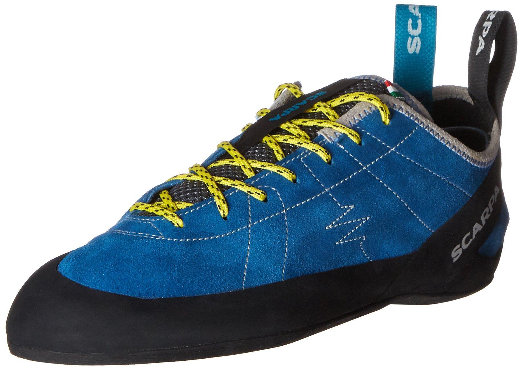 Scarpa Men's Helix Climbing Shoe, Hyper Blue, 43 EU/10 M US