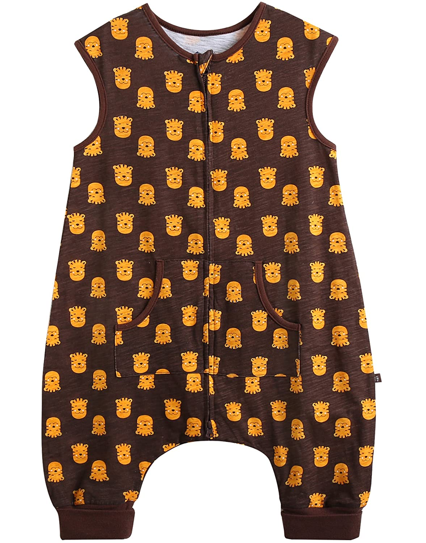 Vaenait baby 1-7 yrs Kids Boys Cotton Wearable Blanket Sleeper for Summer SS_070a
