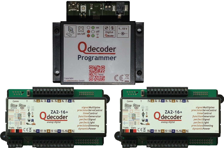 QD095  Qdecoder Startpaket mit Programmer und 2x ZA2-16+ deLuxe