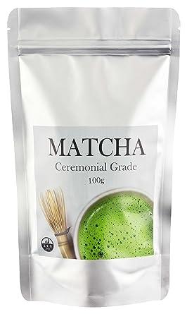 TÉ MATCHA – Ceremonial Grade ✮ 100 gr ✮ Polvo Matcha – en calidad premium –