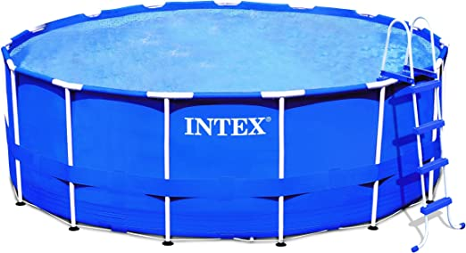 Intex – 56969 FR – Piscina – Kit Piscina Metal Frame 4, 27 x 1, 07 ...