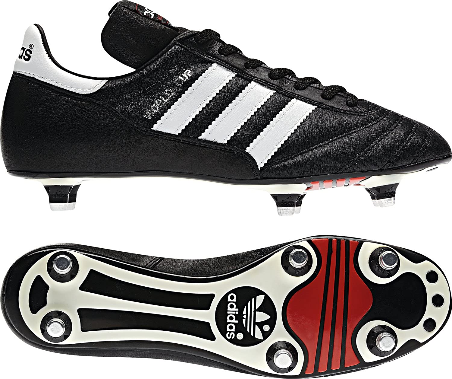 pretty nice 1f8c1 8aed6 adidas - Football Boots - Men s World Cup - Black - 6.5  Amazon.co.uk   Sports   Outdoors