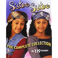 The Complete Collection Sister Sister 6 Seasons 119 Episodes
