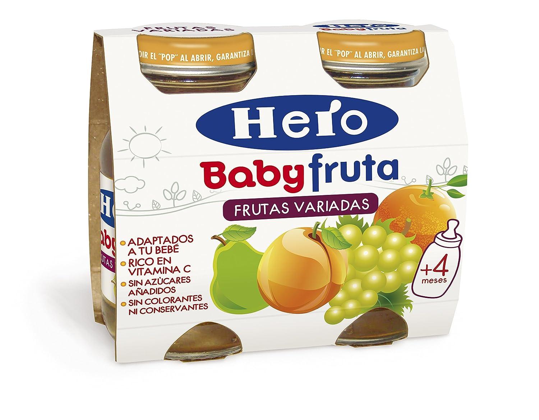 Hero Baby Bebida de Frutas para Bebés - Paquete de 2 x 130 gr - Total: 260 gr: Amazon.es: Amazon Pantry