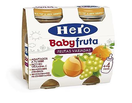 Hero Baby Bebida de Frutas para Bebés - Paquete de 2 x 130 gr - Total
