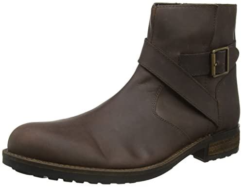 shopping online high quality outlet cheap authentic Brown oiled leather biker boots browse r7c7Oh