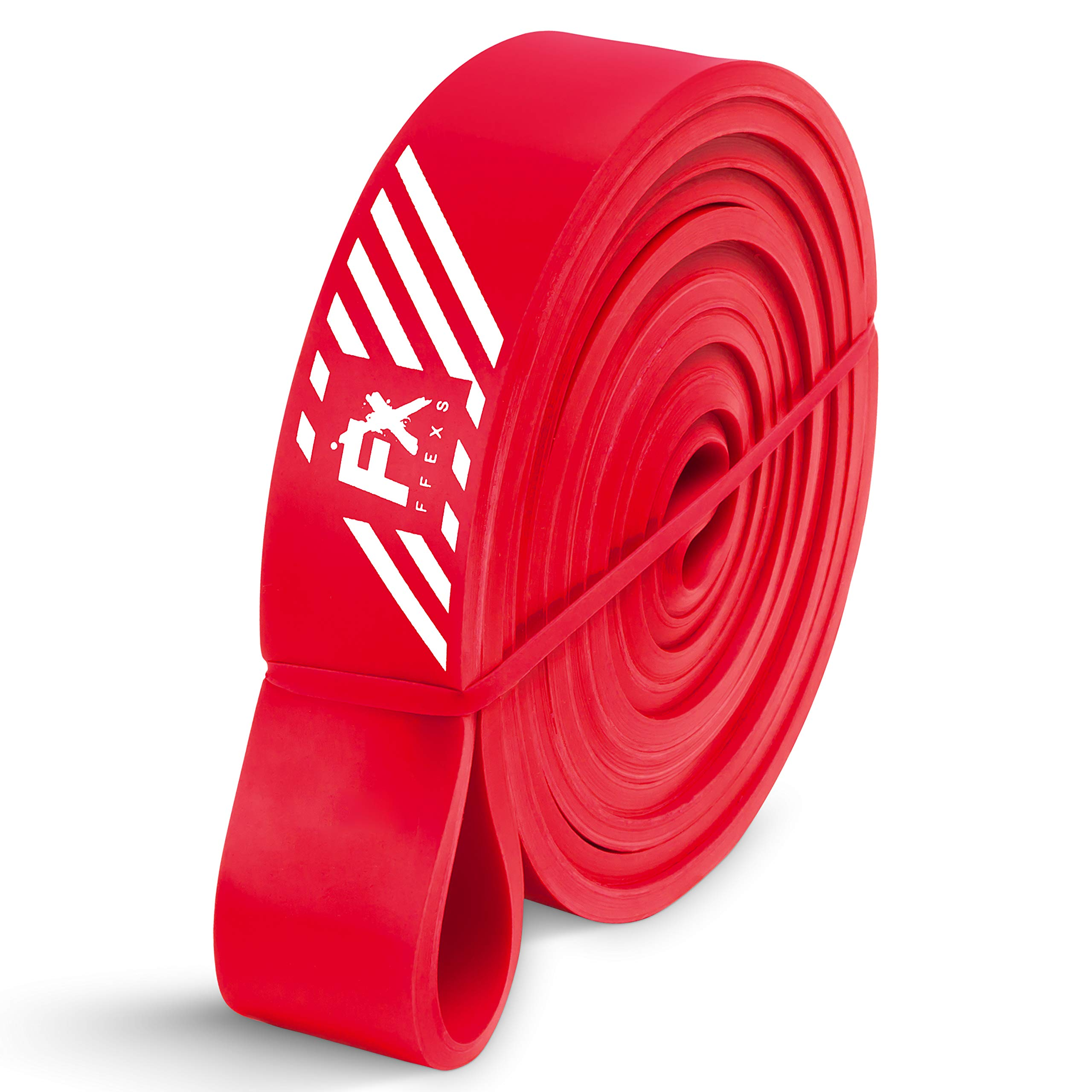 FX FFEXS Premium Pull Up Resistance Bands for Assisted for Pull Up Chin Up Exercise (Red)