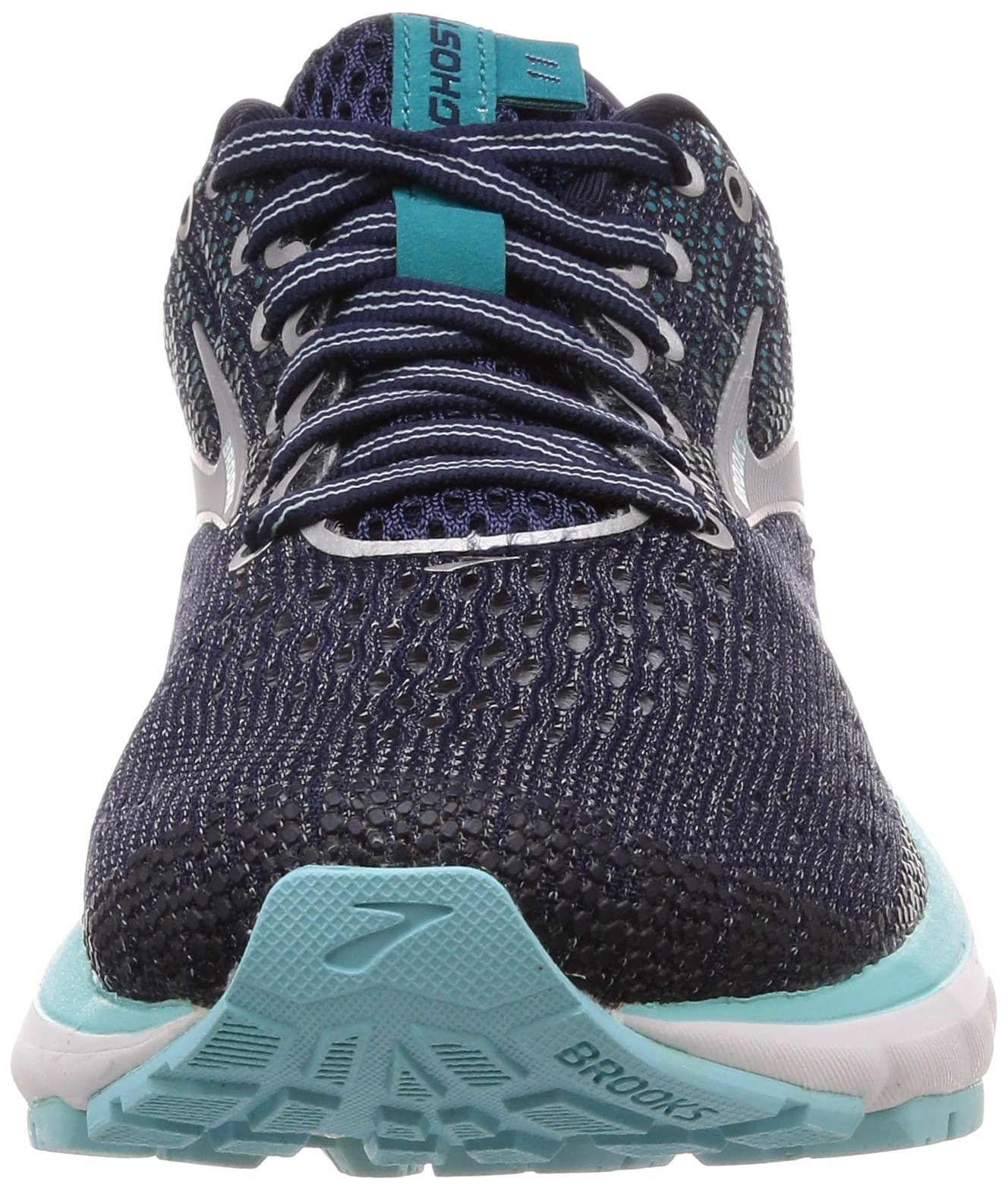 Brooks Womens Ghost 11 Running Shoe - Navy/Grey/Blue - D - 5.5 by Brooks (Image #4)