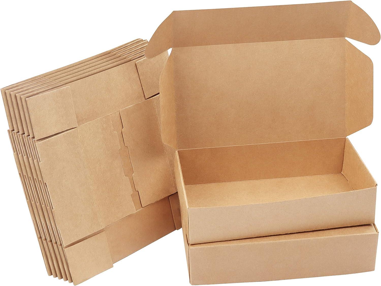 10 x Brown Kraft Gift Box 345 x 94 x 49mm A Celebrations ...