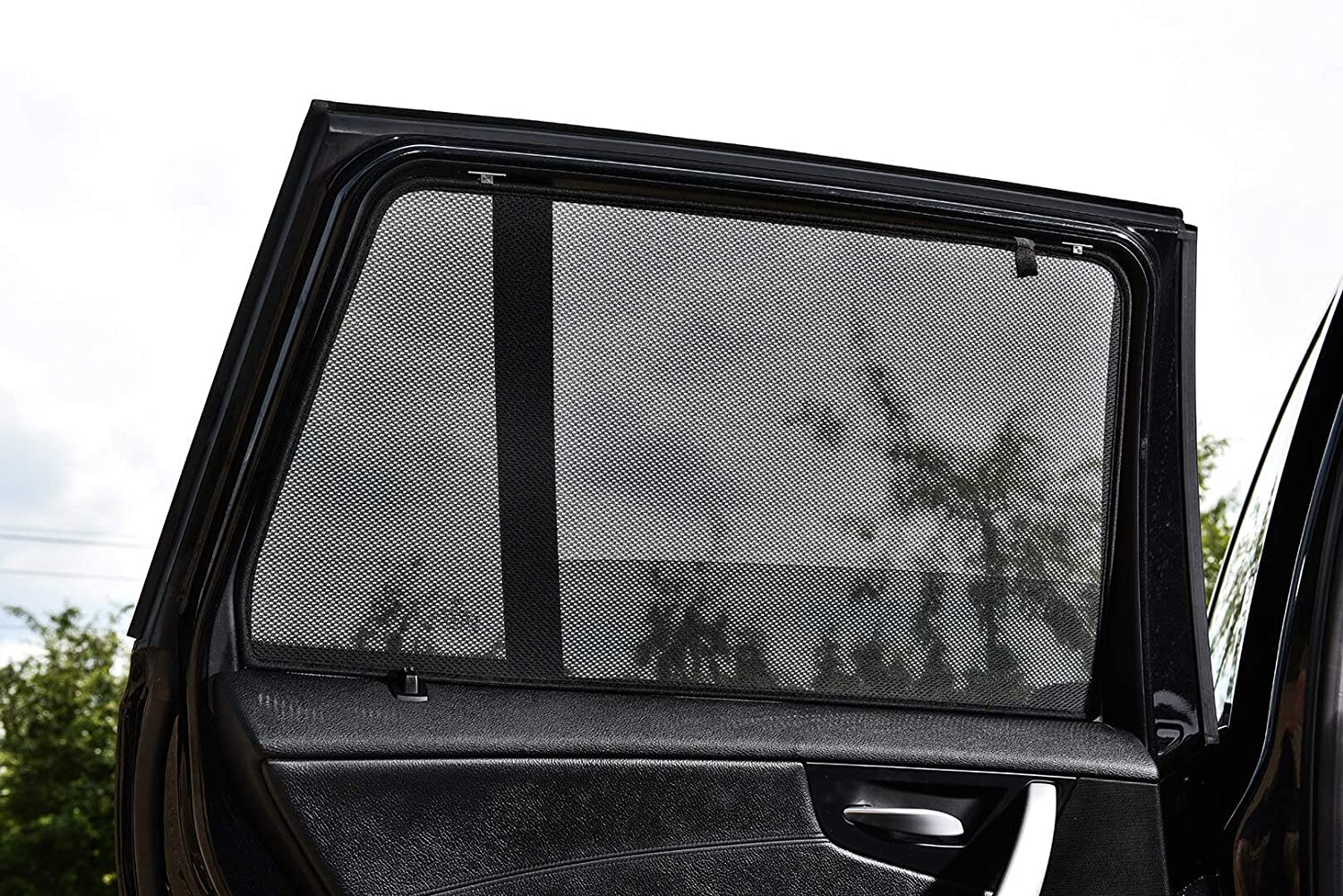 Tailored Fit UV Car Shades - VW Passat Estate 2012 to 2015 - Rear Door Set of 2