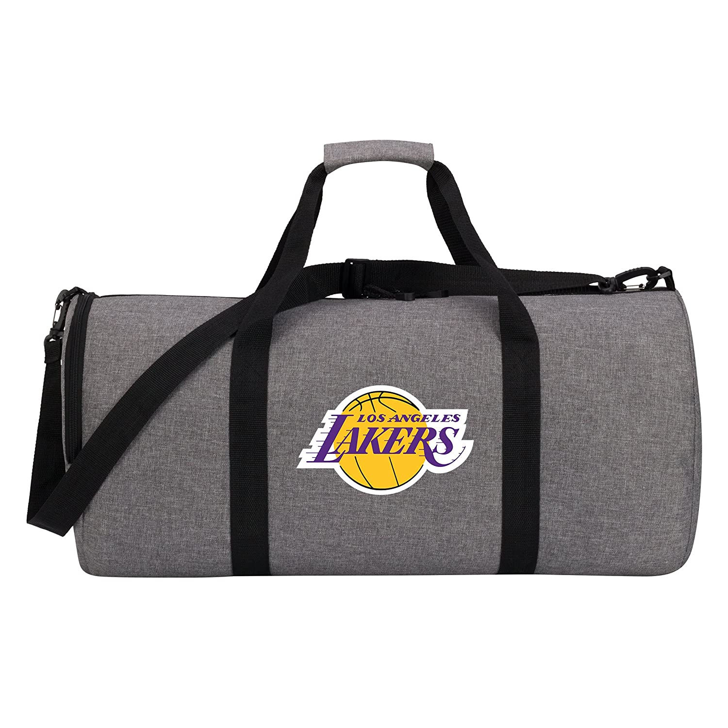 Officially Licensed NBA Wingman Duffle Bag Gray 24 x 12 x 12