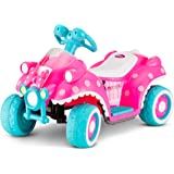 Amazon Com 24 Volt Rechargeable Disney Princess Pink Carriage Can