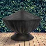 Sorbus Fire Pit Cover, Round 58-Inch