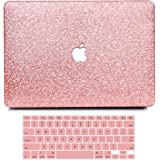 MacBook Air 13 Inch Case 2010-2017 Release A1369 A1466 Model, B BELK Sparkly Bling Crystal Smooth Ultra Slim Plastic…