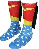 Wonder Woman Knee High Shiny Caped Socks