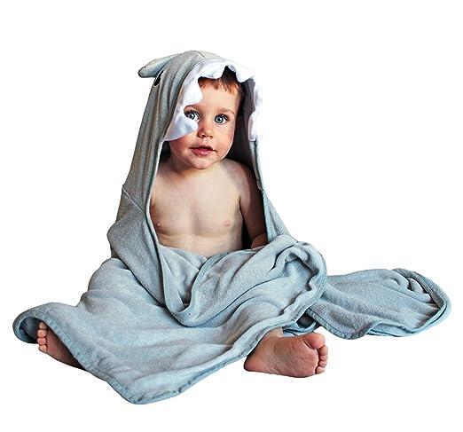 4 opinioni per The cutest attacco Shark Shark Baby asciugamano con cappuccio, 100% fibra di