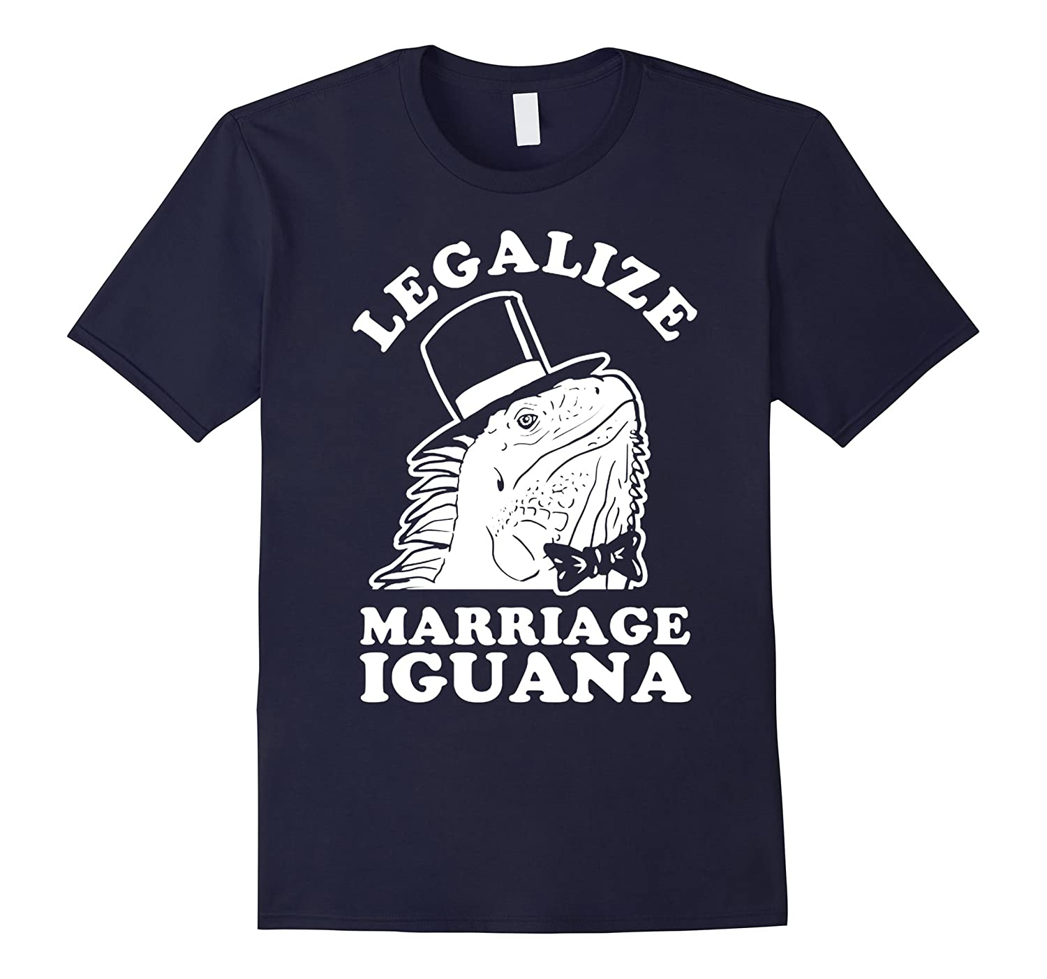 Legalize Marriage Iguana Shirt-CD