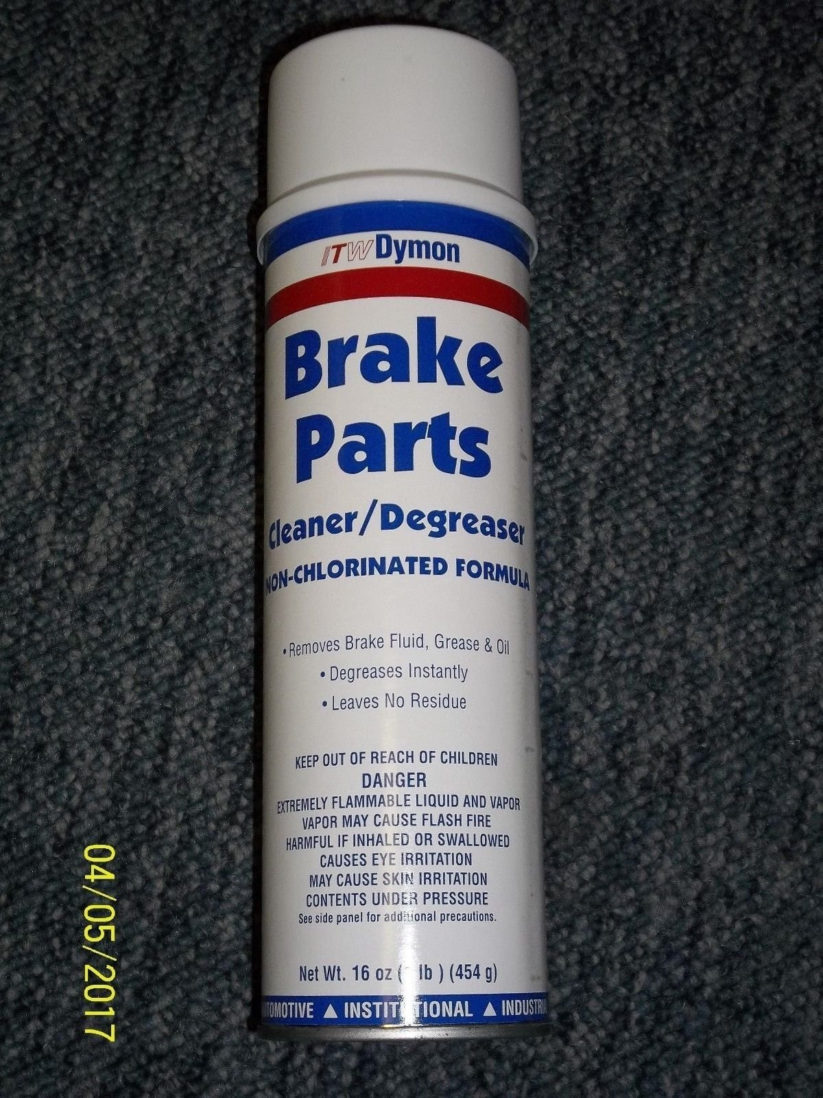 Case of 12 ITW Dymon 50220 Brake Parts Cleaner Degreaser non-chlorinated 16 oz by Brake Parts