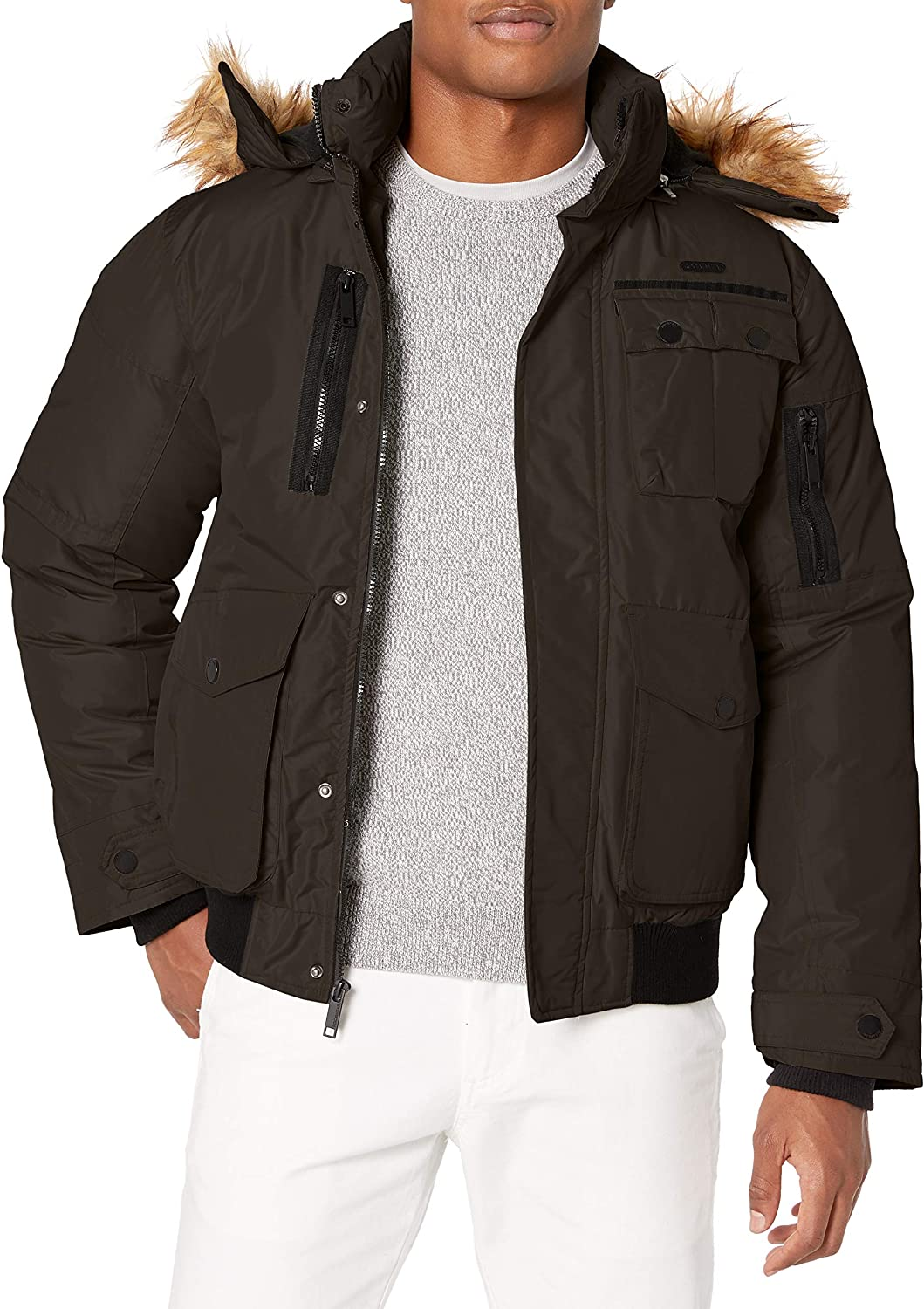 Rocawear mens Outerwear Jacket: Clothing