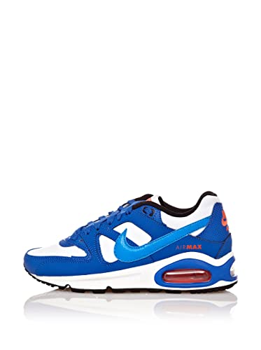 newest ad7ee 791f1 Nike Air Max Command (GS) Sneaker Junior - White Photo blue-Hyper