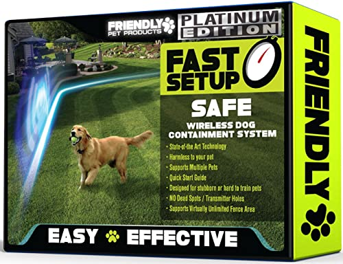 Friendly-Pet-Products-Wireless-Dog-Fence-with-Radio