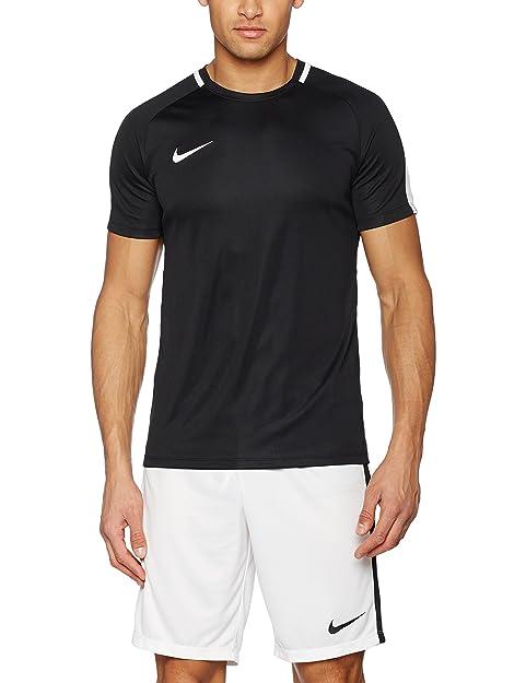 Nike Men's Dry Academy Football Top (S, Black/White)