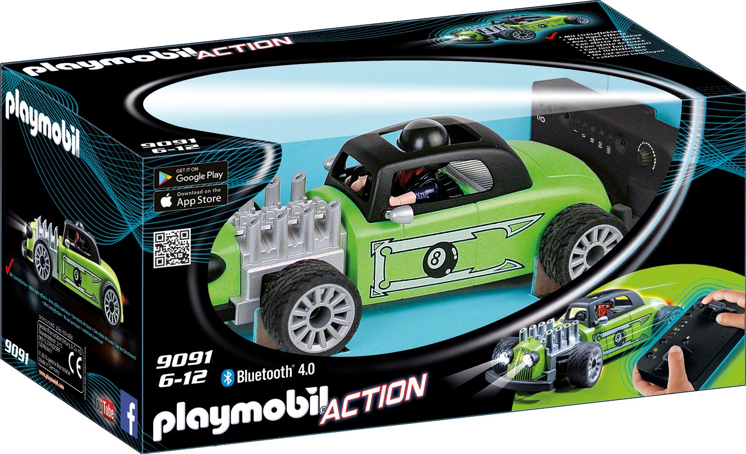 PLAYMOBIL 9091 - RC-Rock'n'Roll-Racer No Name de toys GEOVR