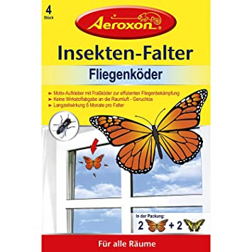 Fliegen Küche | Aeroxon Insekten Falter Gegen Fliegen 4er Amazon De Kuche Haushalt