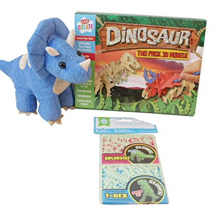 Amazon.com: 3 pc Dinosaur Themed Gift Bundle: 1- 6 ...