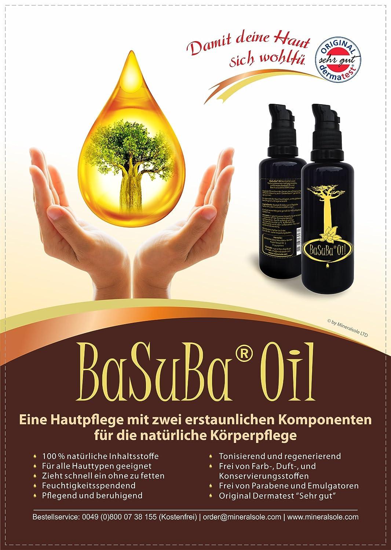 basuba® Oil - Baobab prensada aceite con bacillus subtilis ...