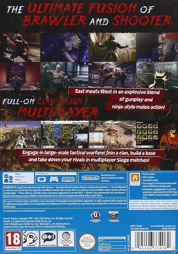 e81f30e64c Devil's Third - Nintendo Wii U: Amazon.it: Videogiochi