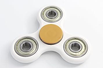 fidget spinner gold and white. fidget spinner gold and white e