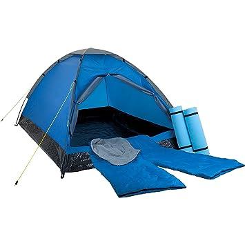 Mckinley Tiendas de campaña Vega 3/4 Blue/Grey/Anth Uni: Amazon.es: Deportes y aire libre