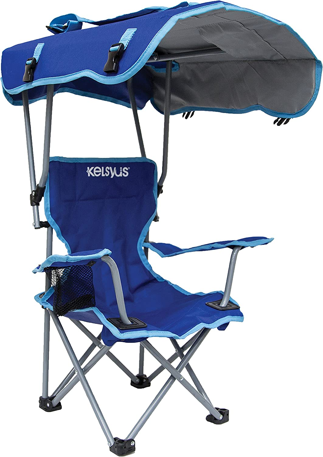 Kelsyus Kids Outdoor Canopy Chair – Foldable Children s Chair for Camping, Tailgates, and Outdoor Events