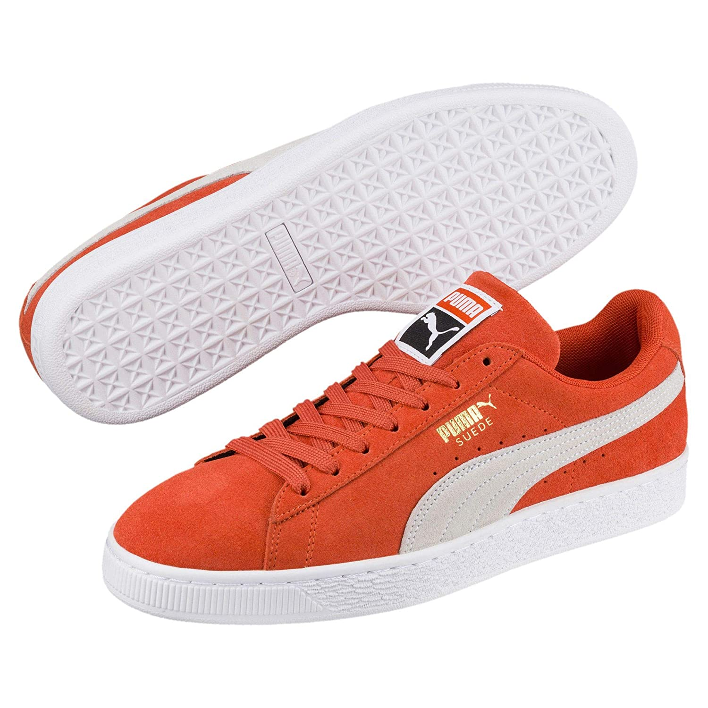 sale retailer af67b 3440d Puma Suede Classic 36534735, Trainers Orange: Amazon.co.uk ...