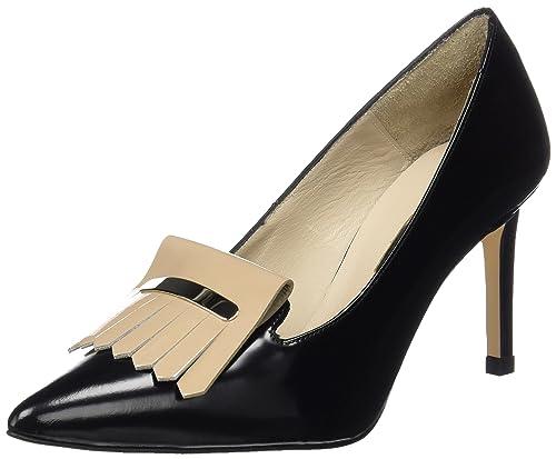 Carla - Chaussures Femme - Noir (DANUBIO Negro/Charol Beige) - 37 EUHannibal Laguna nXzIX4yO