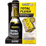 XADO Engine Oil System Cleaner with Anti-Carbon Effect - Removes Contamination & Engine Sludge - ATOMEX Total Flush…