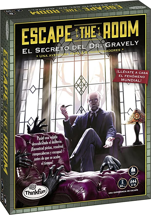 Think Fun- Dr. Gravely Escape The Room (Ravensburger 76311 ...