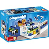 Playmobil - 4346 - Jeu de construction - Equipe vétérinaires et salle d'opération