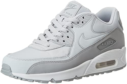 nike womens air max 90 essential - black\/wolf grey\/white bathrooms