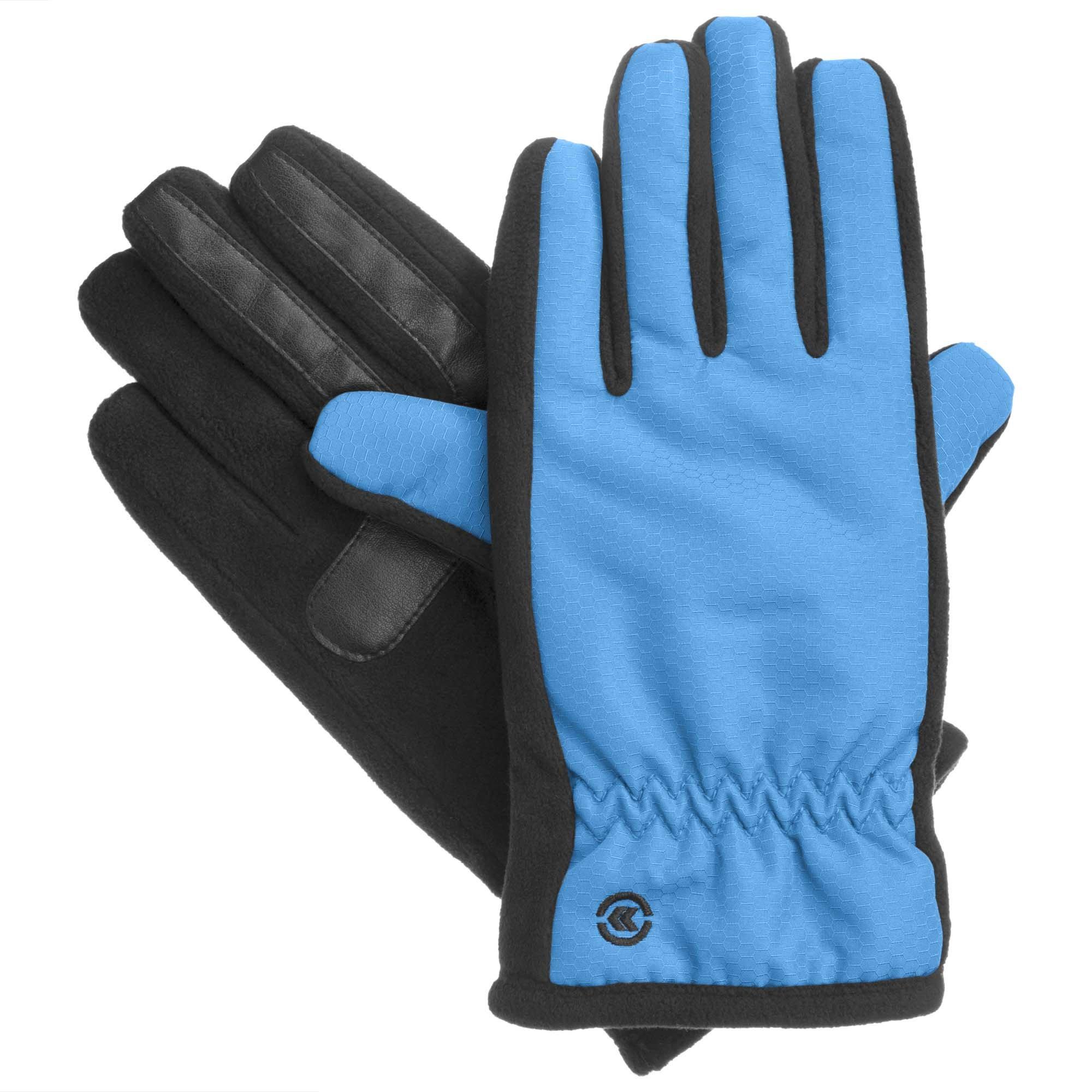 Isotoner Women's Smartouch Matrix Touch Screen Glove (Medium / Large, Dynasty Blue)