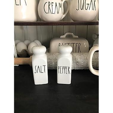 LLAAJMG Salt and Pepper Shakers Farmhouse Decor