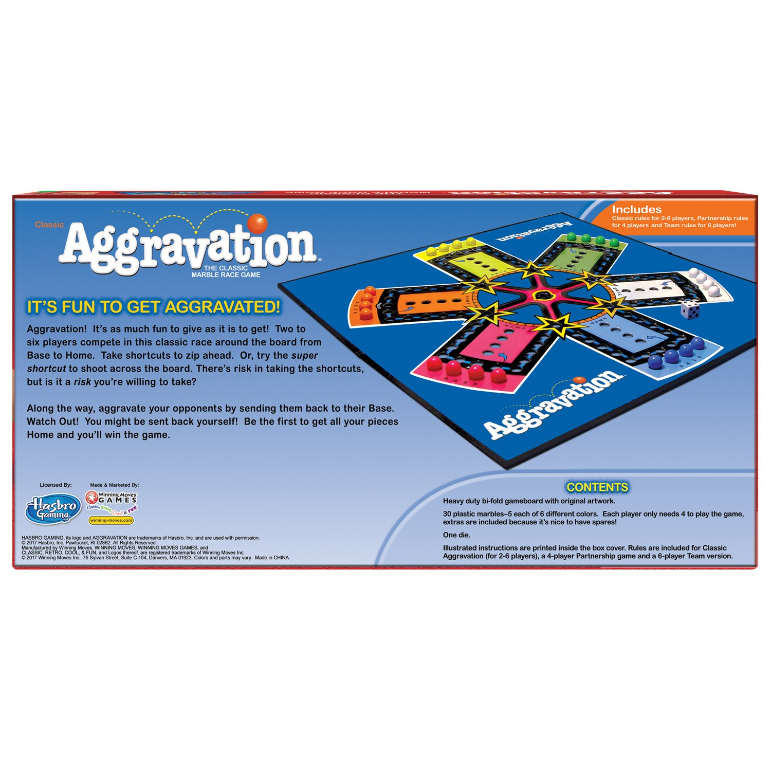Amazon Com Aggravation Winning Moves Toys Games