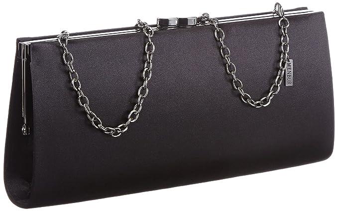 Amazon.com  Menbur Women s Paxton Evening Handbag Schwarz (Schwarz ... dc09806a352