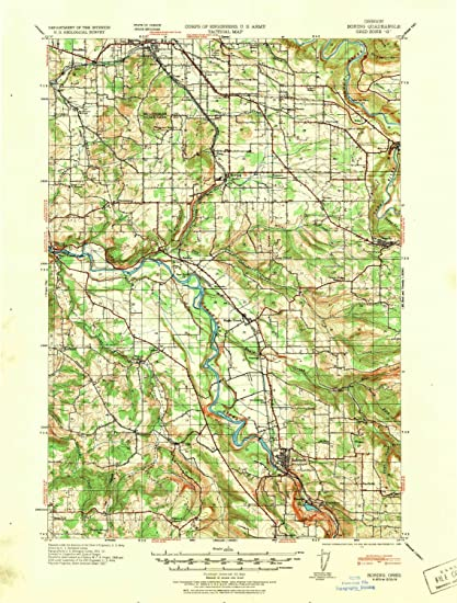 Amazon Com Yellowmaps Boring Or Topo Map 1 62500 Scale 15 X 15