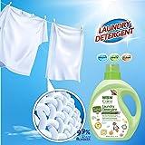 WBM LLC, Newborn or Infant Natural WBM Care, 34 oz, 50 Loads Each (2 Pack), Active Baby Laundry Detergent