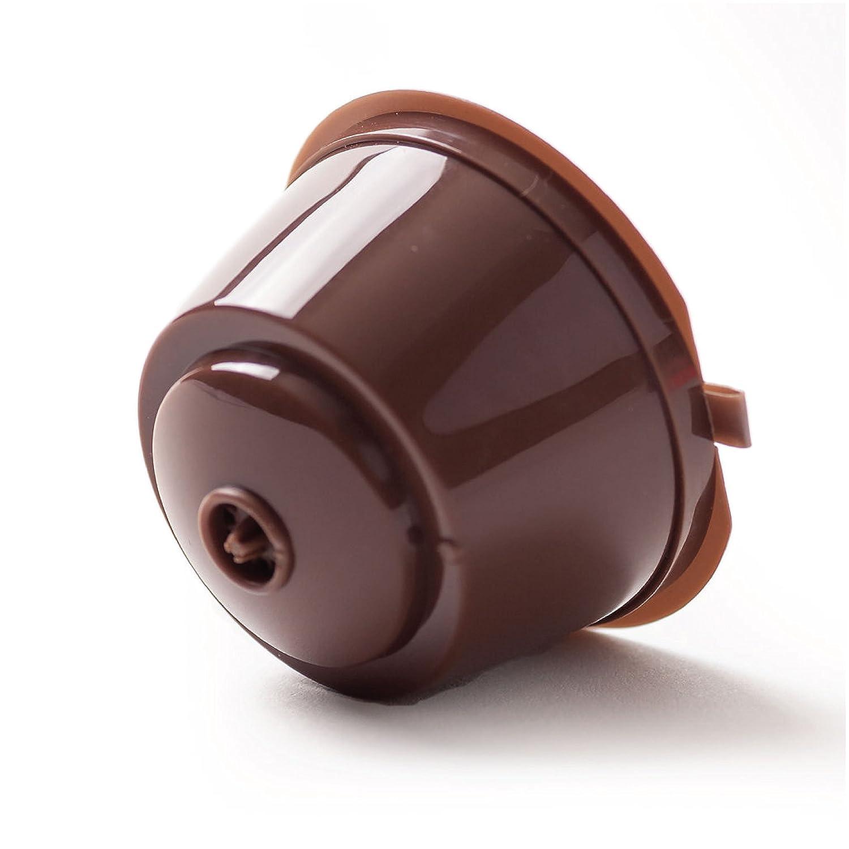 Amazon Refillable Nescafé Dolce Gusto Capsules 2 pack with Bonus Coffee Spoon