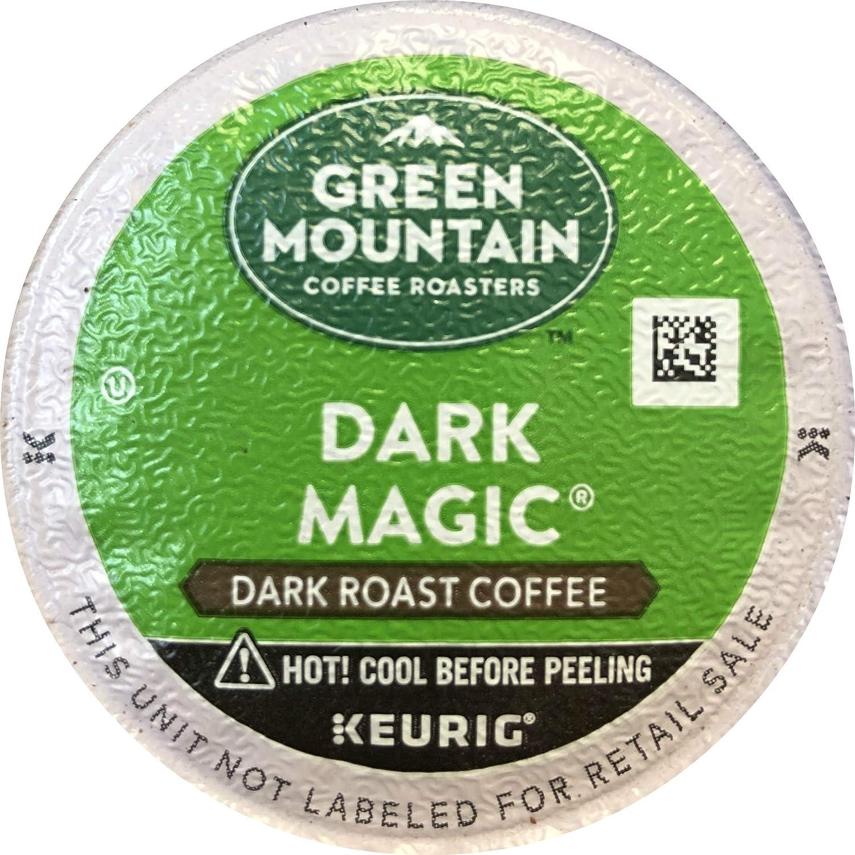 Keurig, Green Mountain Coffee, Dark Magic, K-Cup Counts, 50 Count (Packaging May Vary)