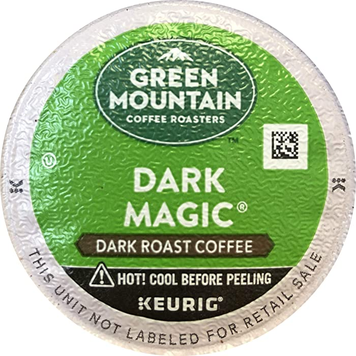 Green Mountain Coffee, Dark Magic, 72-Count K-Cups for Keurig Brewers (Packaging May Vary)