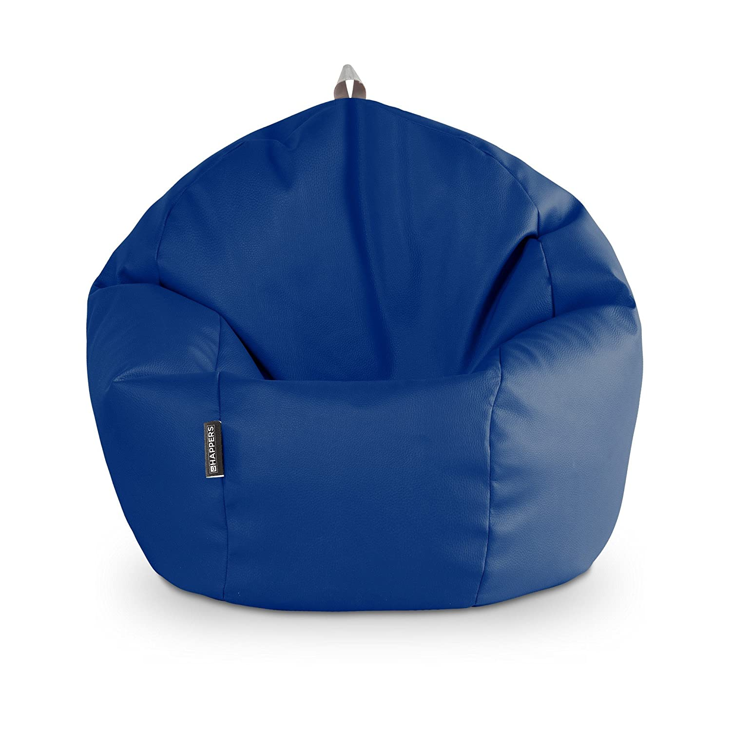 HAPPERS Puff Pelota Polipiel Outdoor Azul: Amazon.es: Hogar